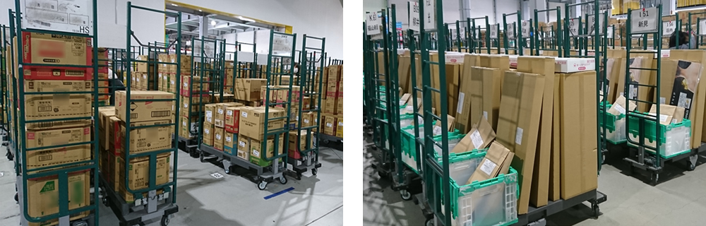 定番・特売品を全数検品・値付け・仕分け・出荷